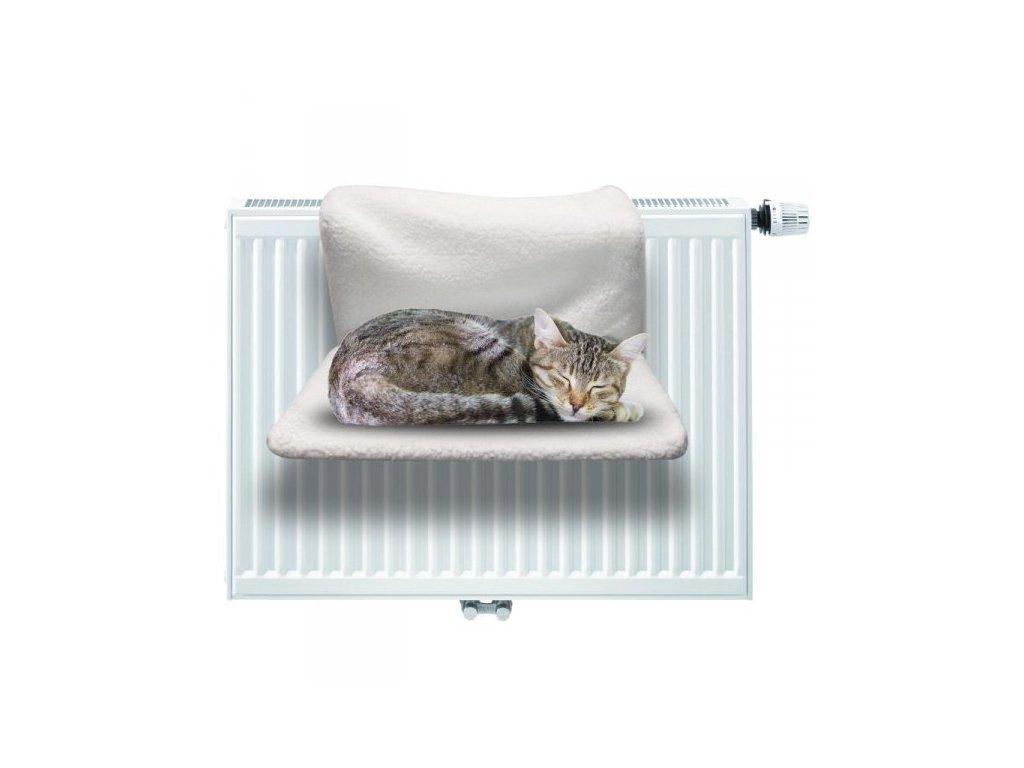 Závěsné odpočívadlo na topení pro kočky, DZ872