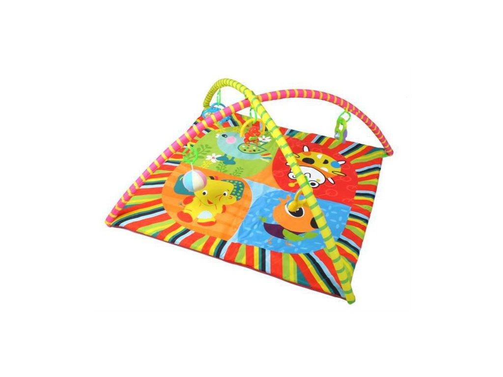 Hrací deka s hrazdou a zvířátka, 1305