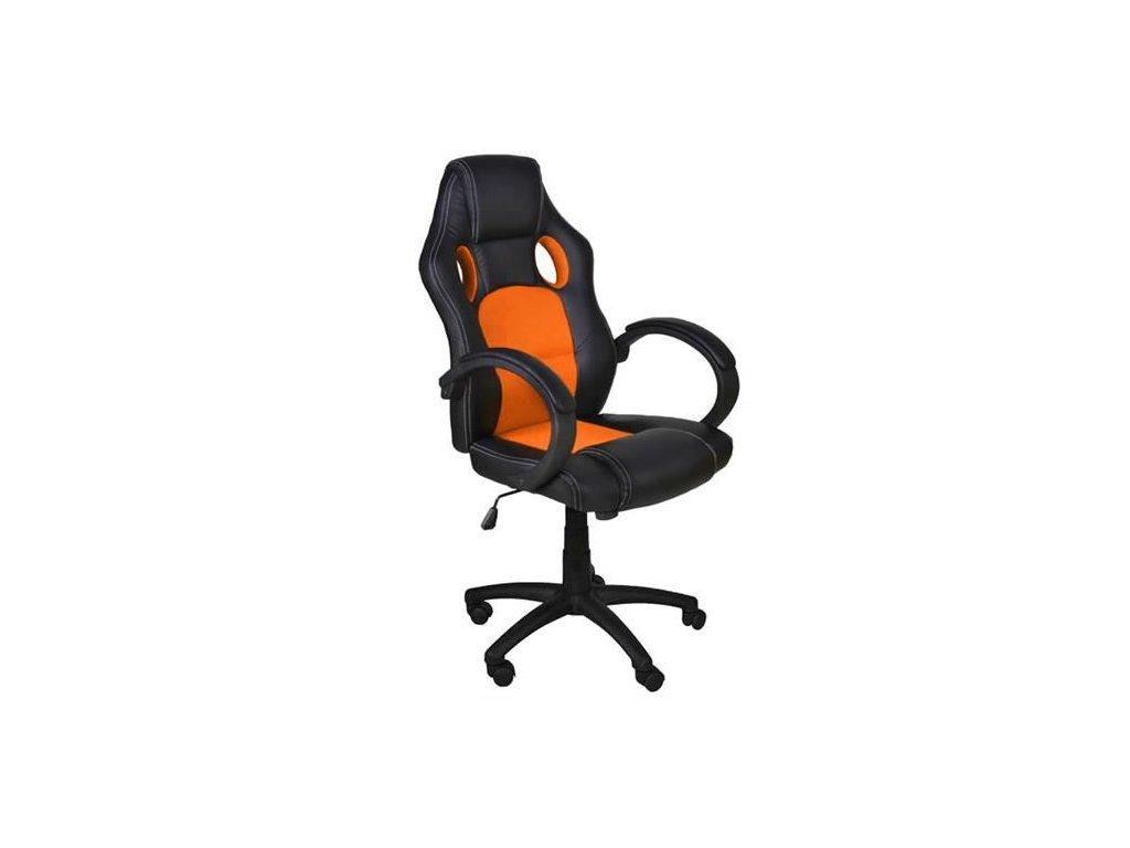 pol pl Fotel biurowy sportowy basic pomaranczowy 11725 1