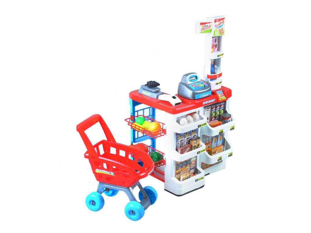 Supermarket obchod s doplňky - velký, 6747