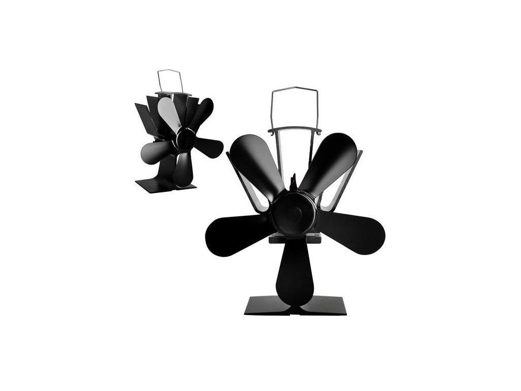 Krbový ventilátor 5 lopatkový YL-504 (170m3/hod), 9596