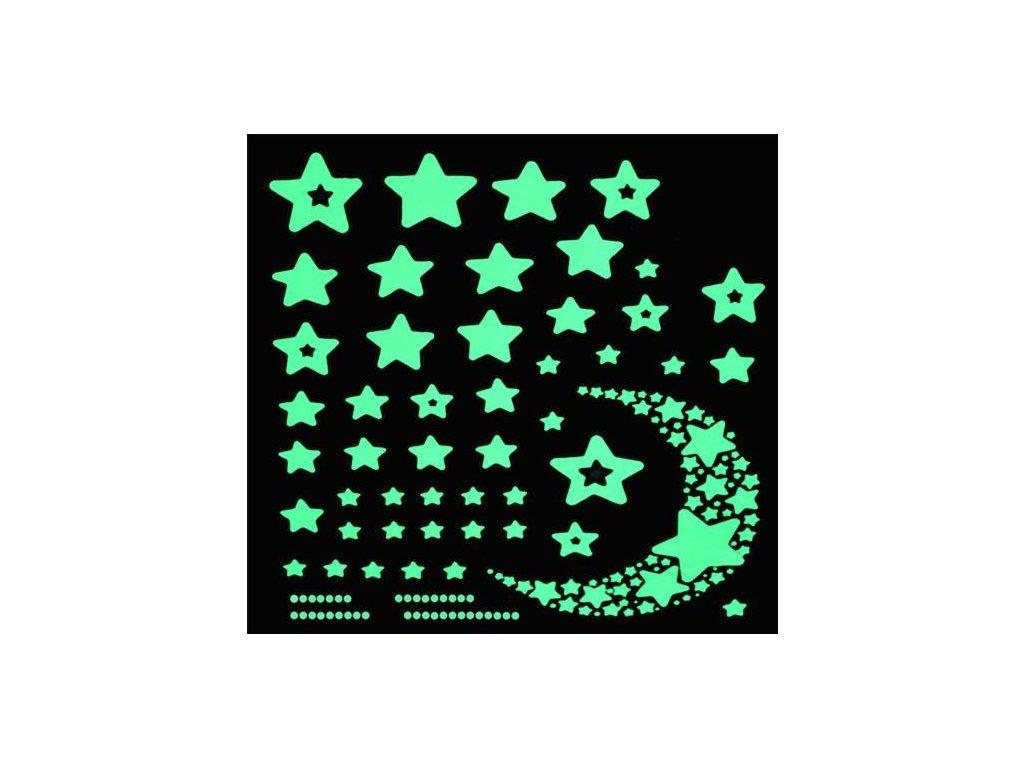 pol pl Naklejki scienne gwiazdy fluorescencyjne 11566 8
