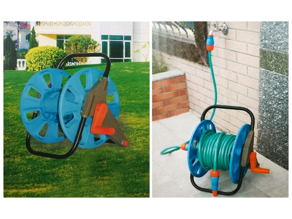 Vozík na zahradní hadici 60m