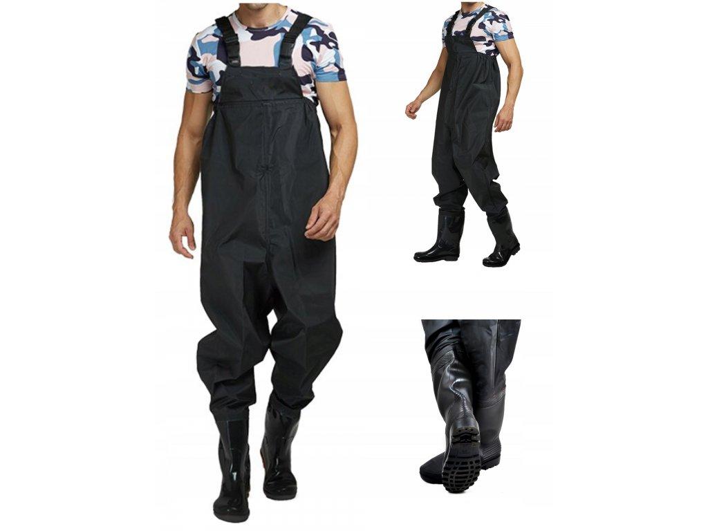 Wodery Spodniobuty Spodnie Wedkarskie 43 Szelki