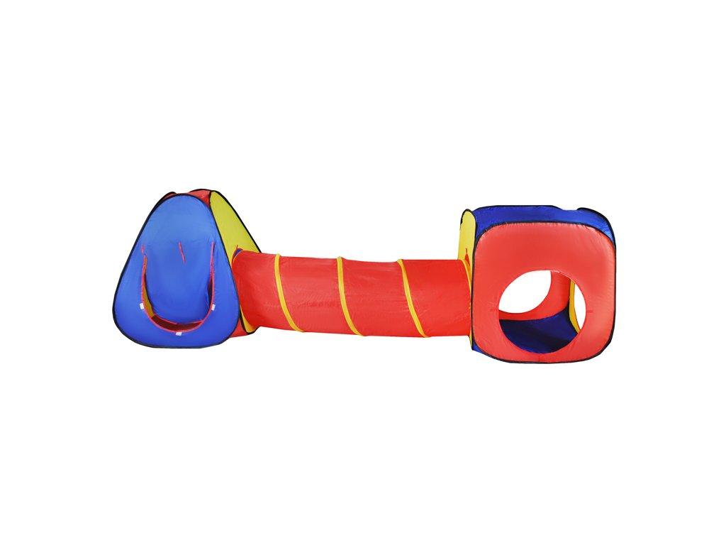 Dětský stan 3v1 - stan + iglu + tunel