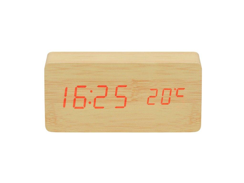 pol pl Zegar drewniany LED 12933 5