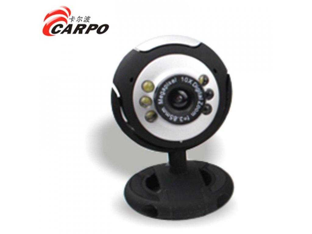 Internetová kamera 12MPx +  6 LED