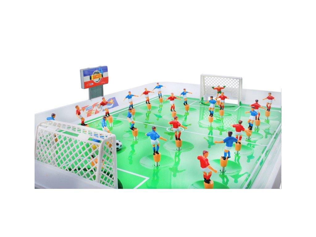 Stolní fotbal - 22 hráčů na pružinách
