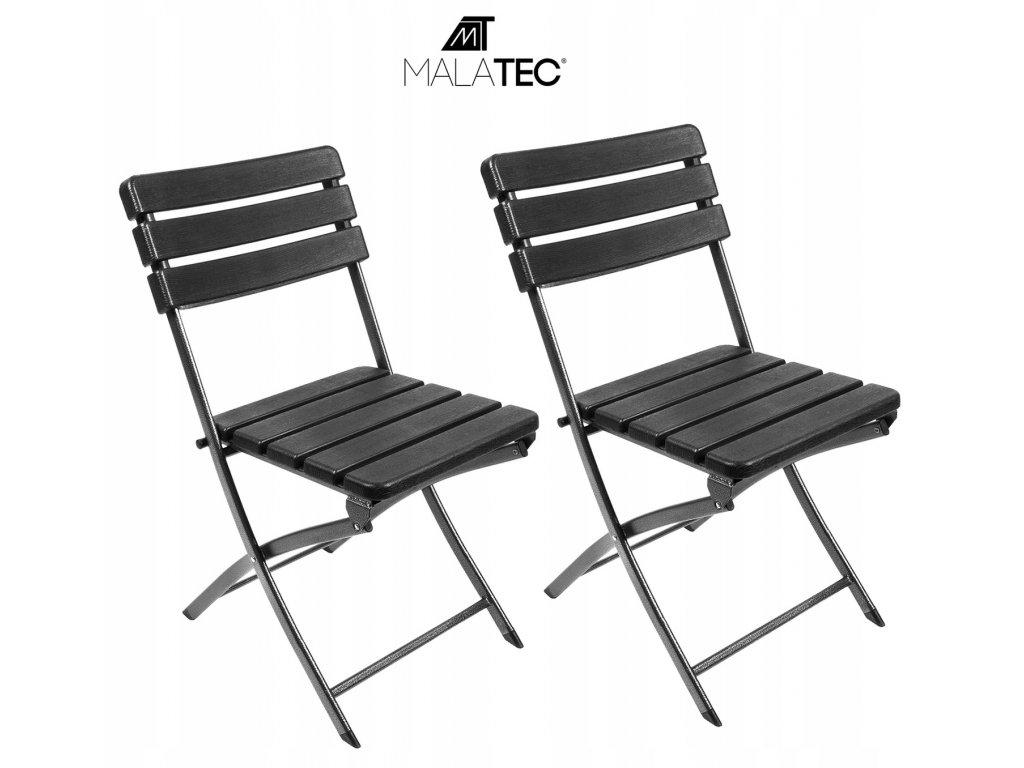 Krzeslo Ogrodowe Cateringowe Skladane na Balkon x2 Producent Malatec