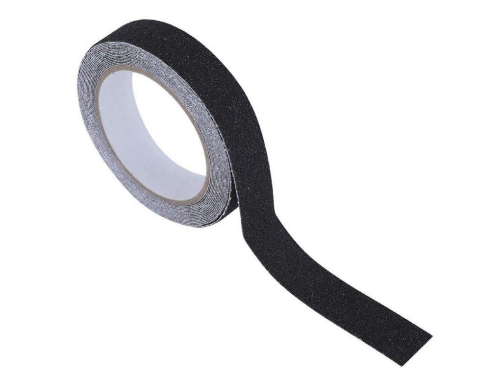 Protiskluzové samolepící pásky 5m, černé