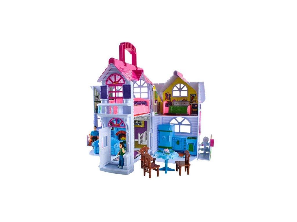 Skládací domeček pro panenky, 6079