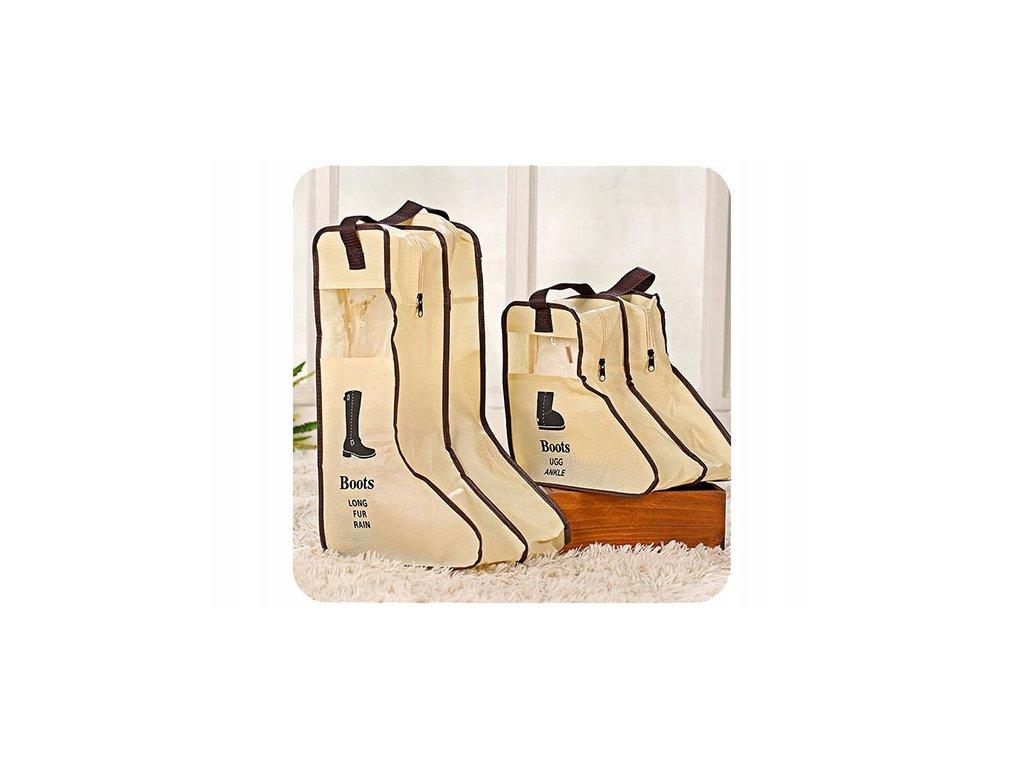 Obal na vysoké boty, béžová, 1286