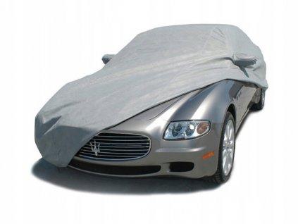 Ochranná plachta na auto, šedá, vel. L