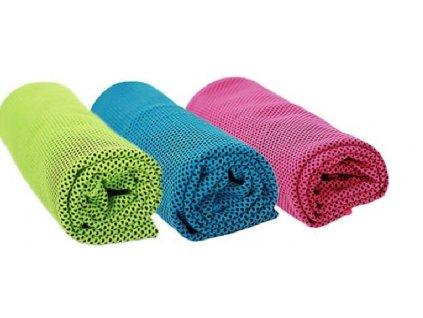 Chladící ručník - Stačí namočit, vyždímat a napnout, modrá