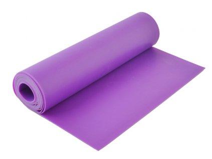 Guma na cvičení 1,2m silná, fialová barva