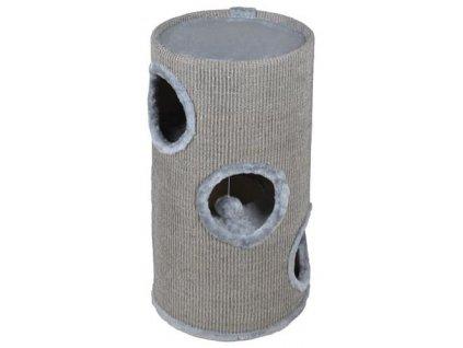 pol pl Drapak dla kota tuba 70cm szara 11732 11