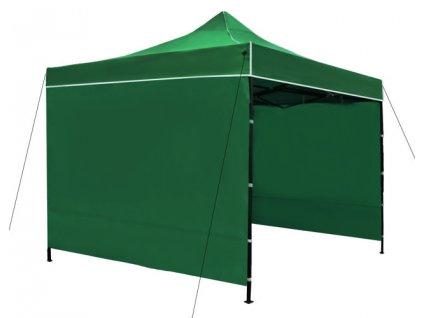 Prodejní stan 3x3 m + 3 stěny, zelený, 3249