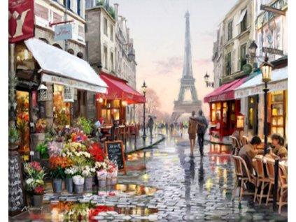 Diamantové malování - Eiffelova věž W209