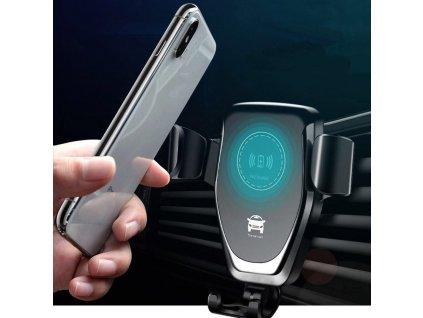 Držák telefonu s bezdrátovým nabíjením S416