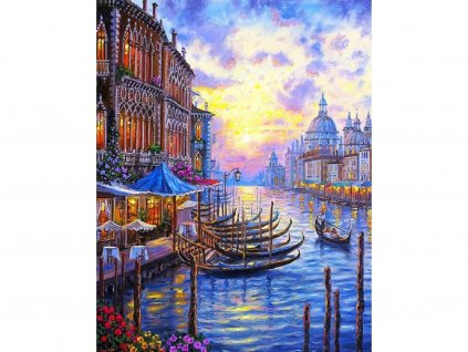 Malování podle čísel - Benátky V206 / W407