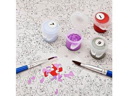 Malování podle čísel - Benátky V206