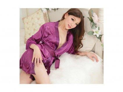 Sexy župan - fialový