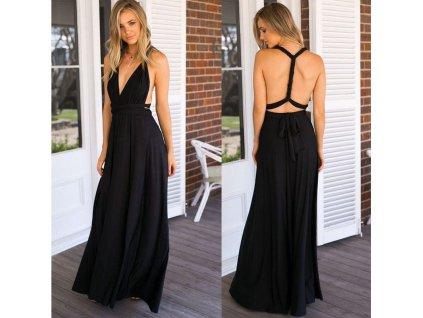 Univerzální šaty - černé Q205