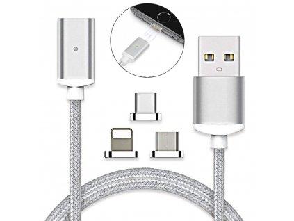 USB kabel s vyměnitelnými koncovkami