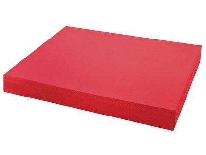 Pěnová balanční podložka 49 x 39 x 6 cm, červená, 4082