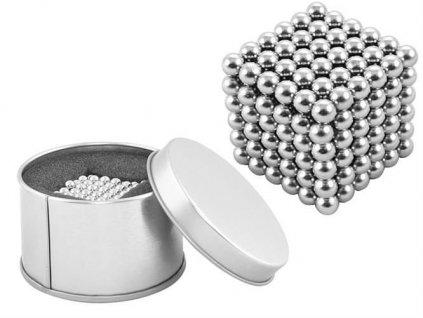 NeoCube originál 5 mm - v dárkové krabičce, stříbrné, 5608