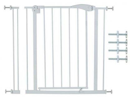 Dětská zábrana do dveří 74-86 cm bílá, 6220