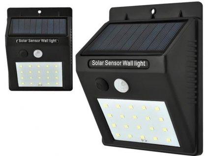 Venkovní LED osvětlení 0.2W, pohybový senzor - solární, 5015