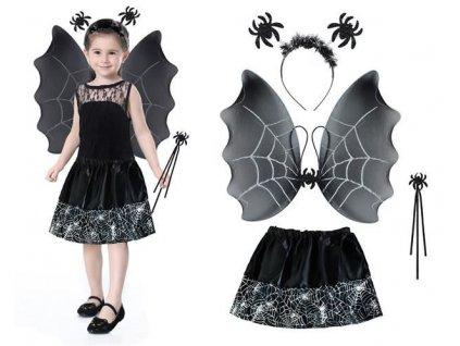Kostým čarodějnice černá, 6408