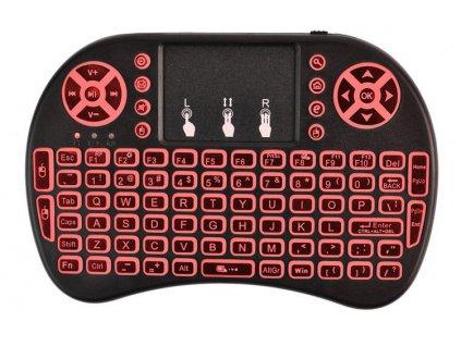 Mini Wireless klávesnice podsvícená 5605