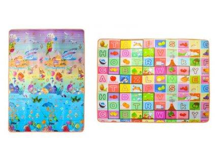 Hrací podložka pro děti 180x150x1 cm, 7872