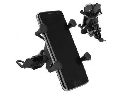 Držák pro mobil na řidítka motocyklu s nabíječkou, 8685