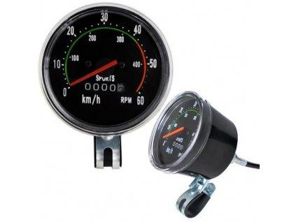 Mechanický Retro tachometr pro jízdní kola, 5679