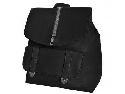 Dámský městský batoh 2v1, černá, 8907