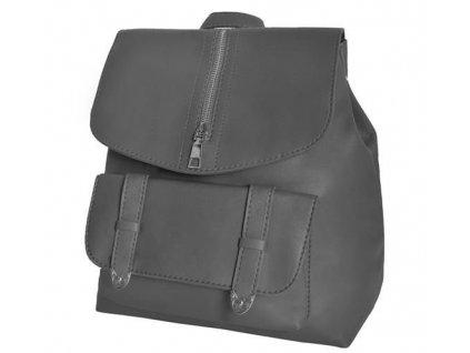 Dámský městský batoh 2v1, šedá, 8908