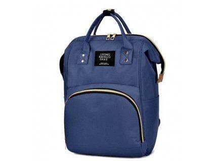 Dámský městský batoh 2v1, modrá, 8912