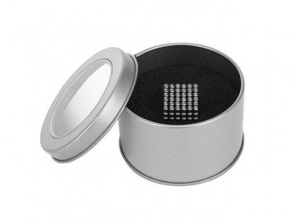 Neocube 3mm, 216 magnetů, krabička, stříbrná, 9027