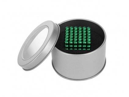 NeoCube 5 mm, zelené, 216 magnetů, 9035