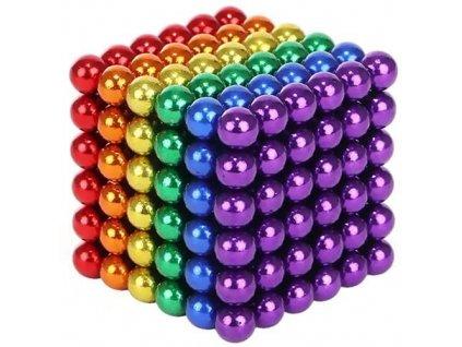 NeoCube 5 mm, barevné, 216 magnetů, 9037