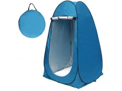 Kabina na sprchování 190x110x110cm, modrá, 8823