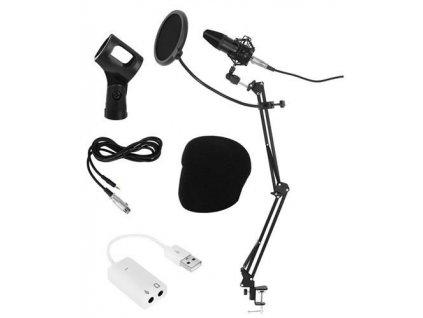 Profesionální studiový mikrofon se stojánkem, 8957