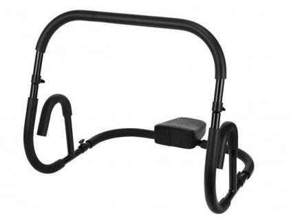 Posilovač břicha Fitness Roller, černý, 8558