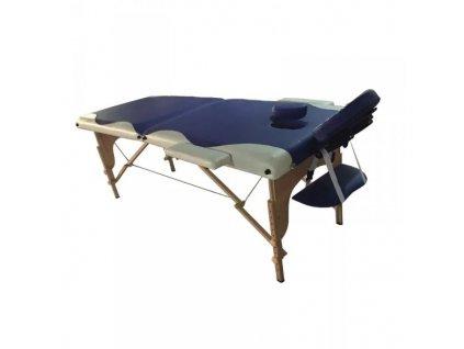 Skládací masážní lehátko dřevěné