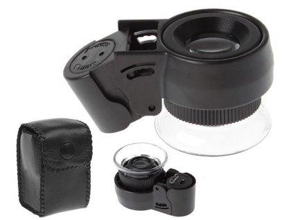 Verk, LED Hodinářská lupa 45x - 21 mm, 09059
