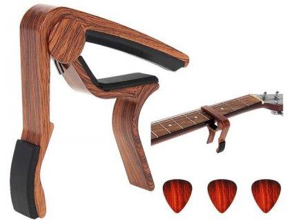Kapodastr CAPO, 3ks trsátka, dřevo, 8822