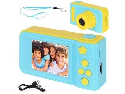 Dětský digitální fotoaparát 2GB modro-žlutá, 8941